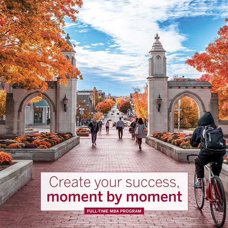 Kelley MBA Viewbook Cover
