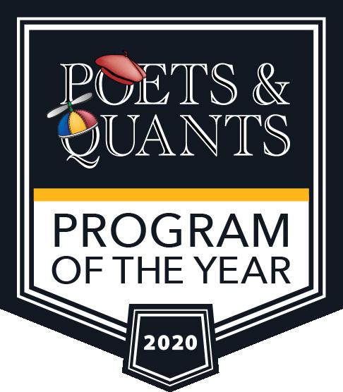 Poets&Quants Program of the Year 2020