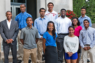 Students involved with the Office of Diversity Initiatives